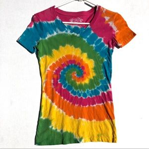Fitted Tye Dye T-Shirt